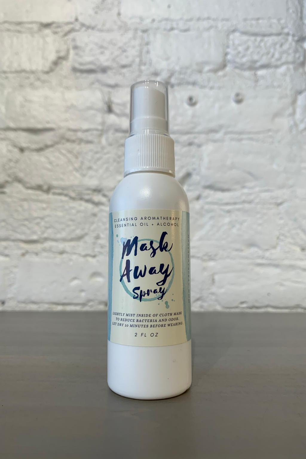 Mask Away Spray, Mint Scent