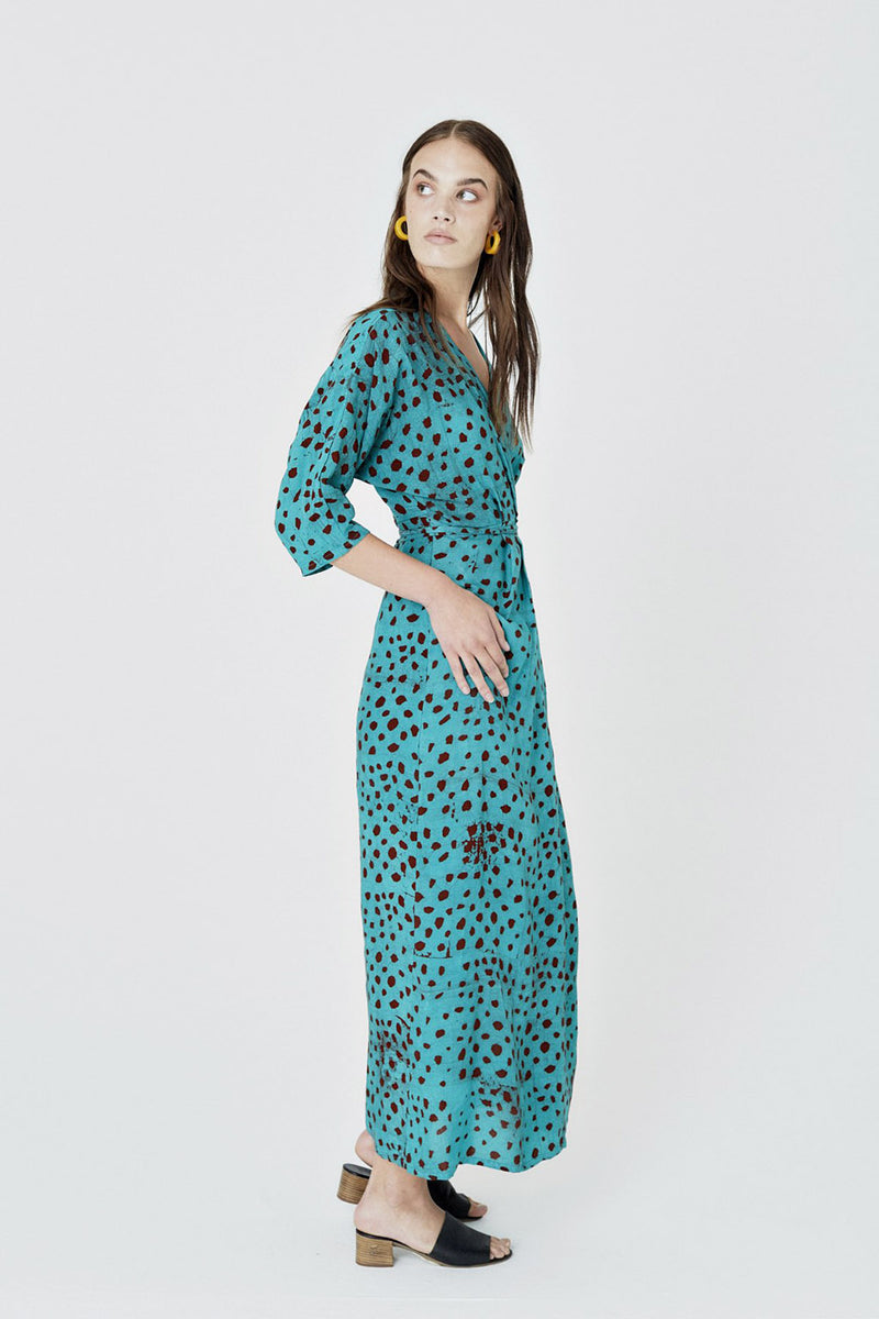 Letsa Wrap Dress