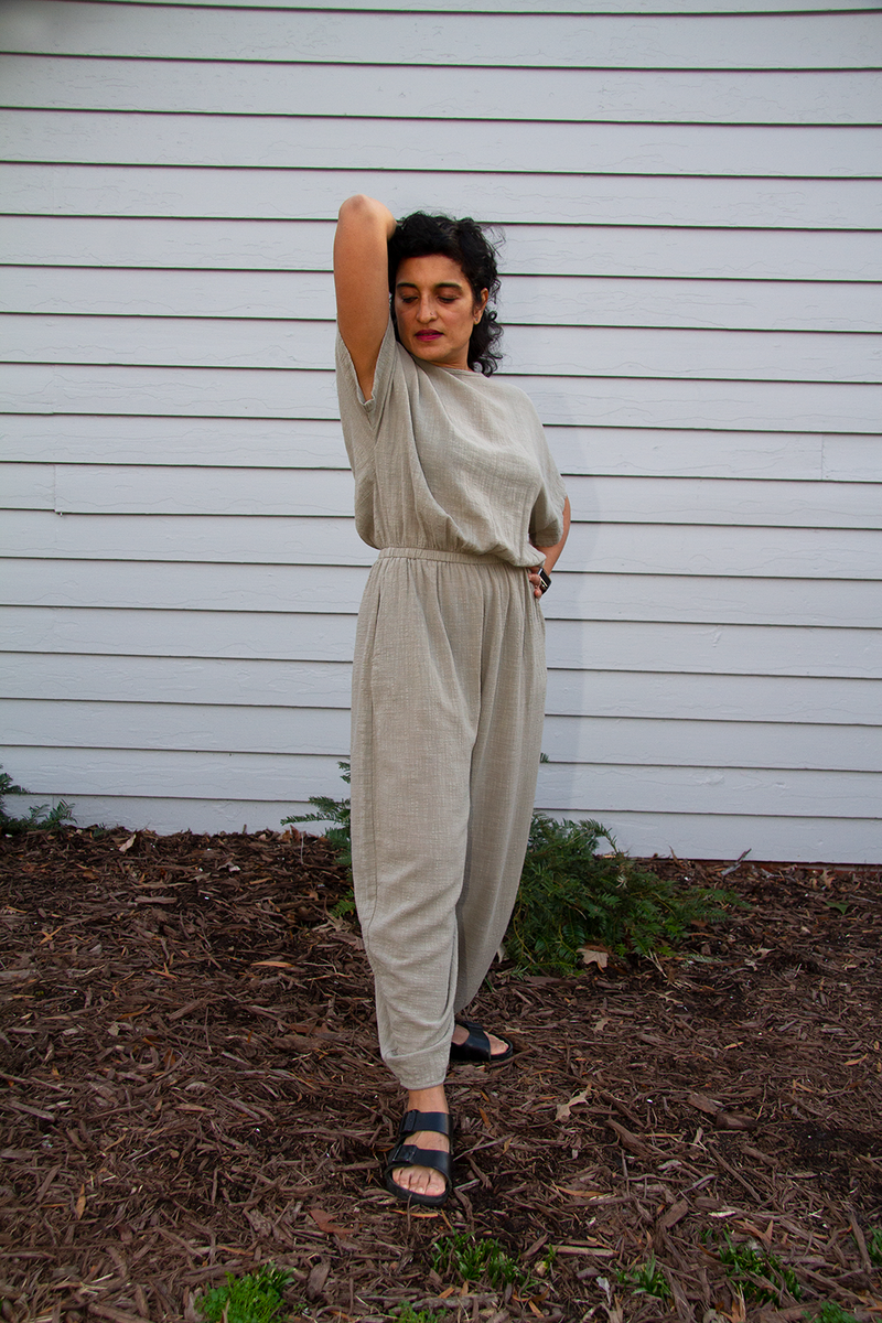 Easy Jumpsuit, Stone