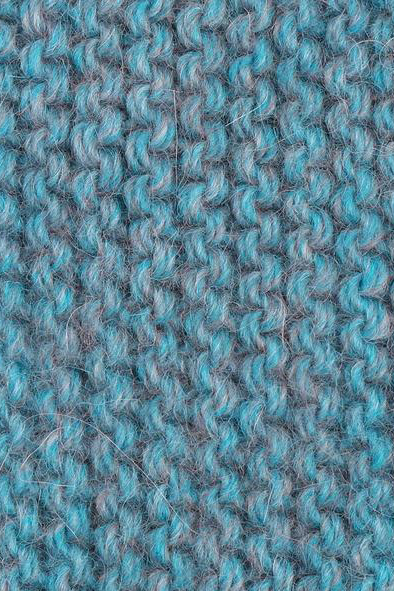 Highland Fingerless Gloves, Turquoise