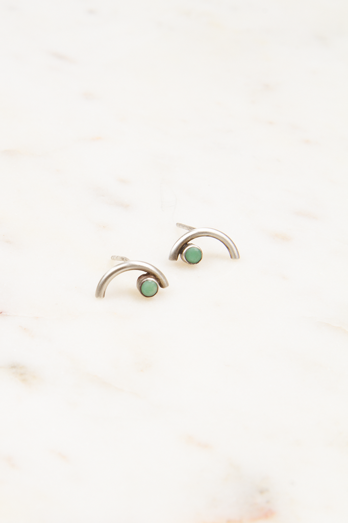 Arc Stud Earrings