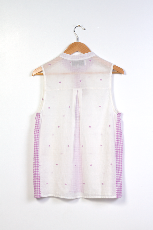 Amma Sleeveless in Polka Jam