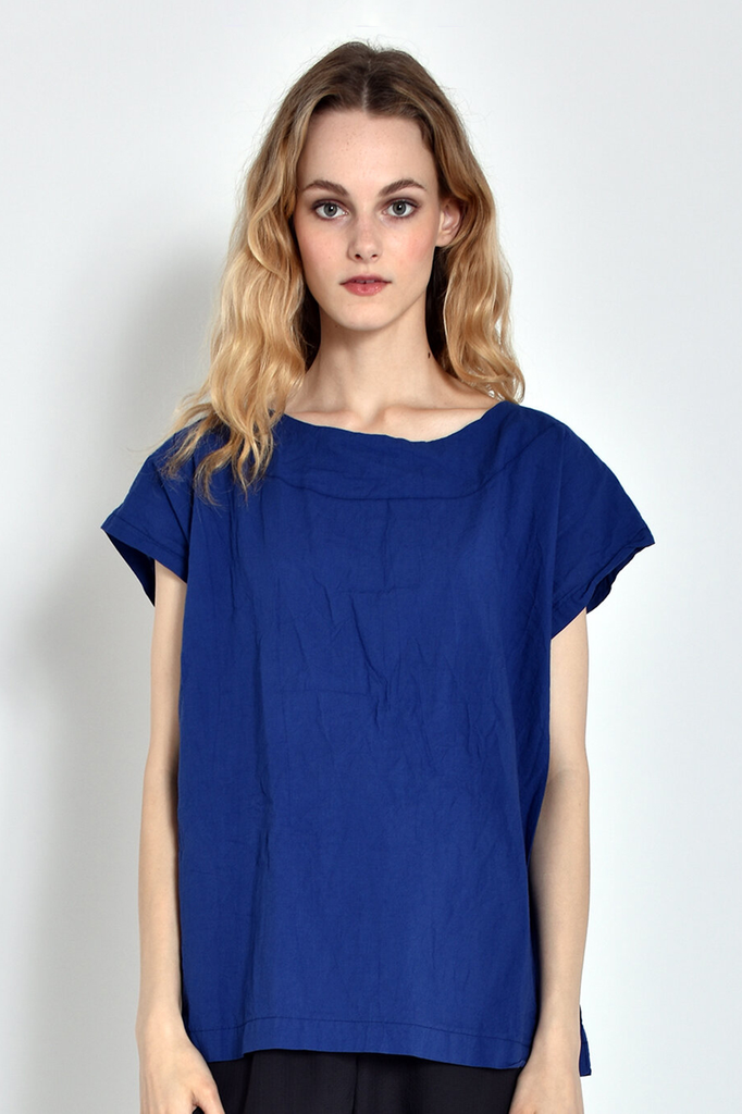 Solid Tunic in Blue