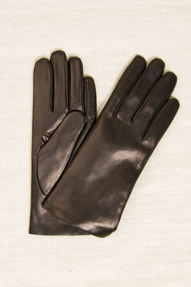 Italian Rabbit Fur Lined Gloves