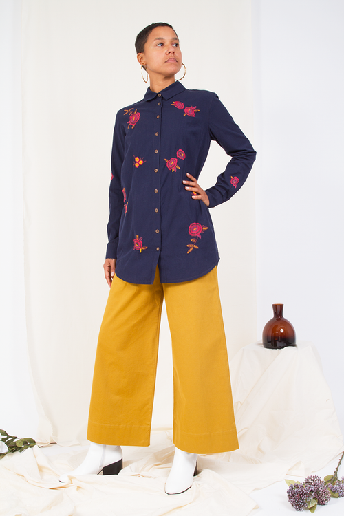 Odina Embroidered Shirt