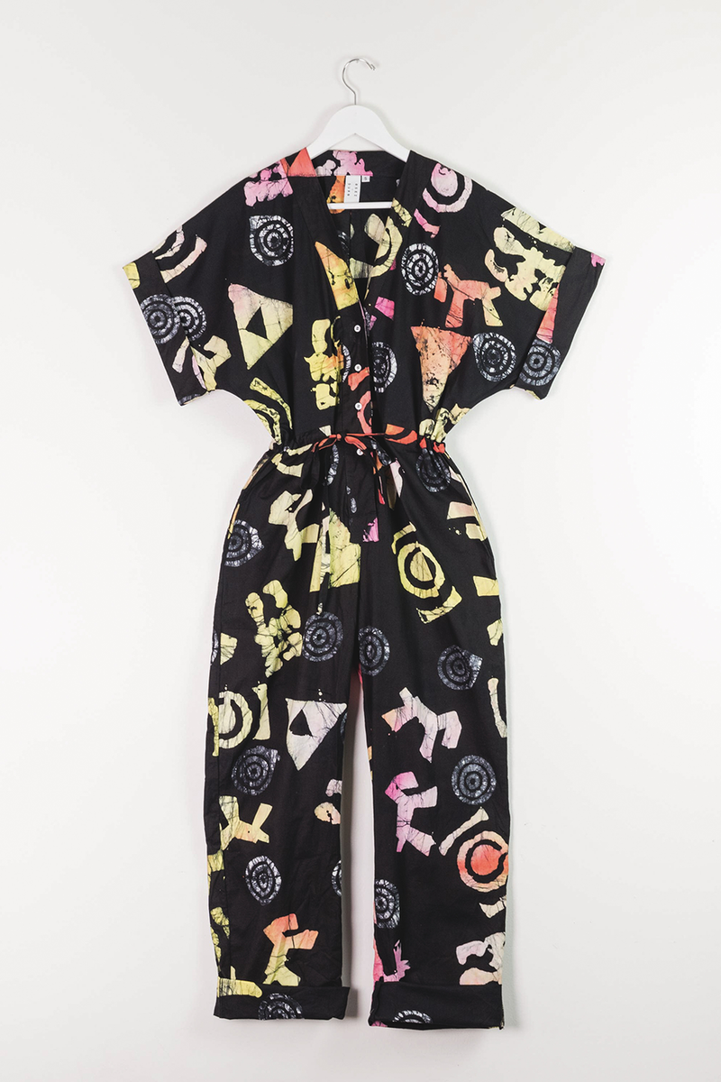 Opus Jumpsuit in Funny Fun Stuff