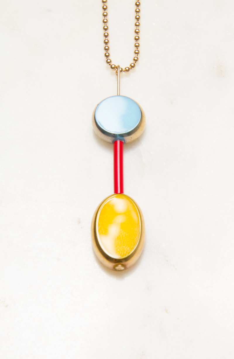 Primary Color Necklace