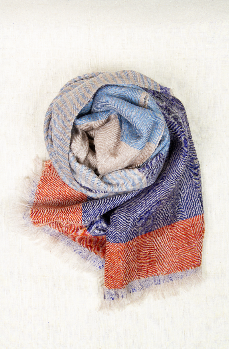 Earth & Water Kashmiri Scarf