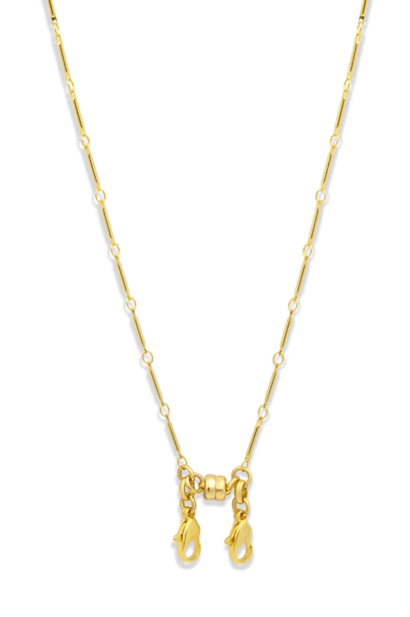 Convertible Station Chain Necklace, Gold