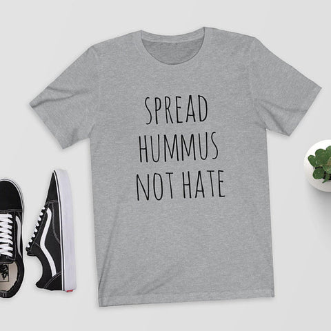 2018 New Basic White Letters Printed Summer Cotton Loose Tops Tee Short Sleeved Funny Tshirts Woman Vegan Shirt Hummus