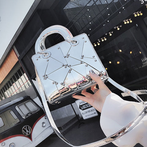 Mirror Image Shoulder Bag