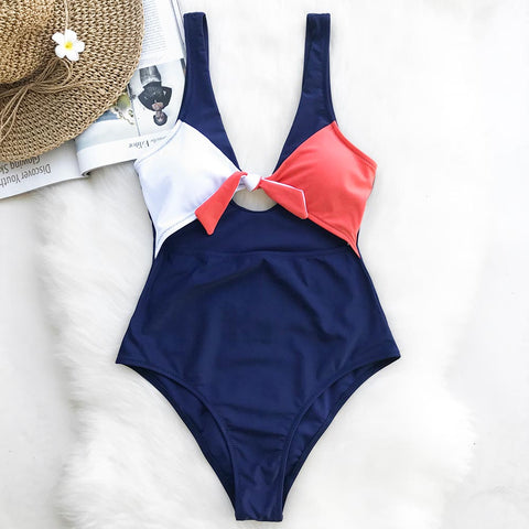 Magic Spell Bowknot One-piece Swimsuit