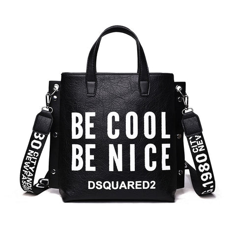 Be Cool Be Nice Tote