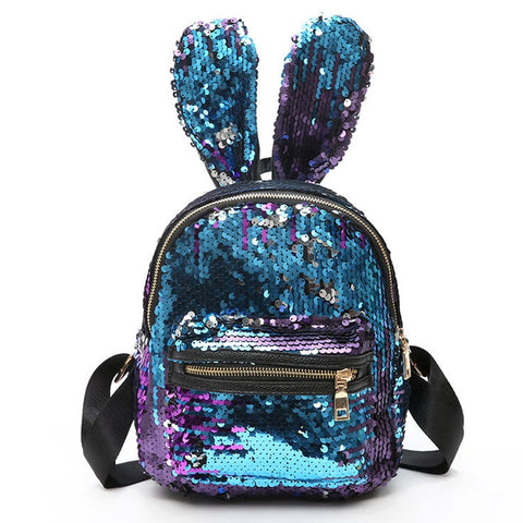 Bunny Reverse Sequin Backpack