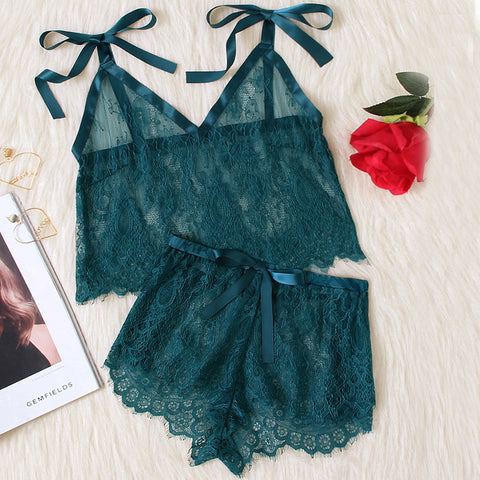 Emerald City Sleepwear Set