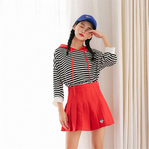 Strawberry Tennis Skirt
