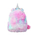 Mini Unicorn Furry Backpack
