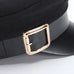Newsboy Cap With Belt