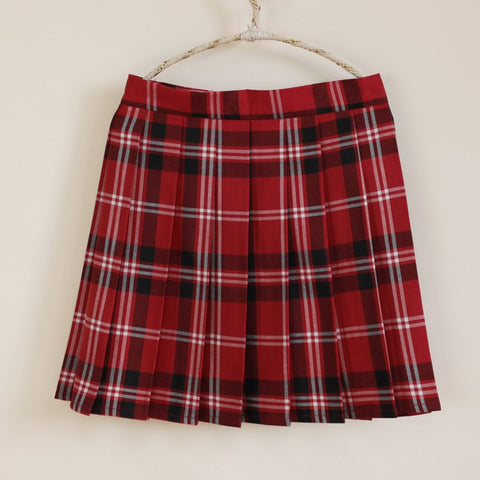 Phoebe Plaid Skirt
