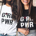 Girl Power Rose Tee