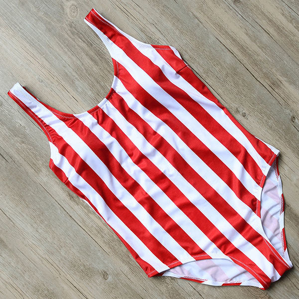 Red Stripe One Piece