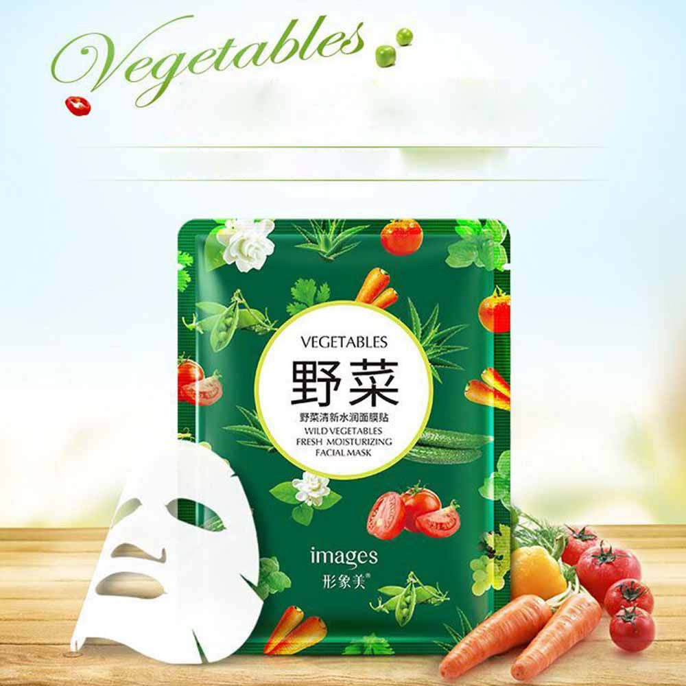 Natural Wild Vegetables Mask Moisturizing Oil Control Skin Care Products