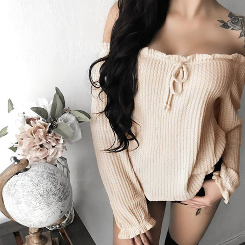 Pricilla Off The Shoulder Casual Top