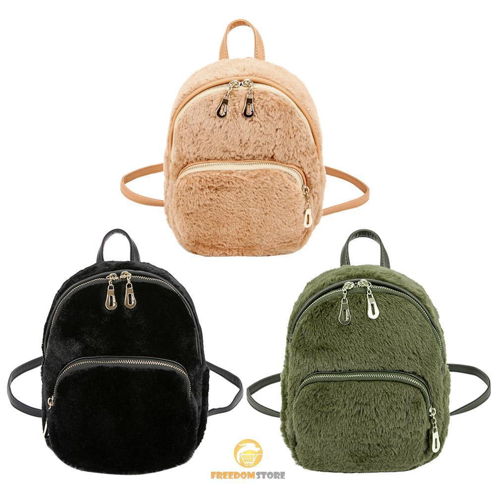 32b7f6db5e Faux Fur Mini Backpack Faux Fur Mini Backpack ...