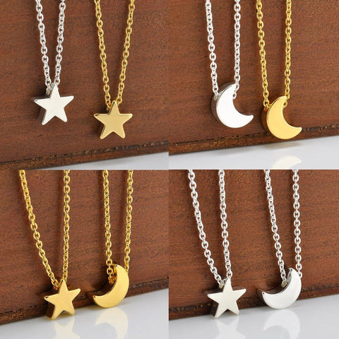 FREE Star / Moon Necklace (Gold, Silver)