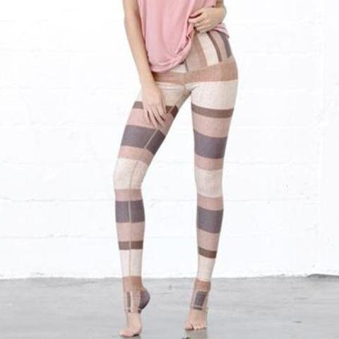 Matelia Striped Fitness Leggings
