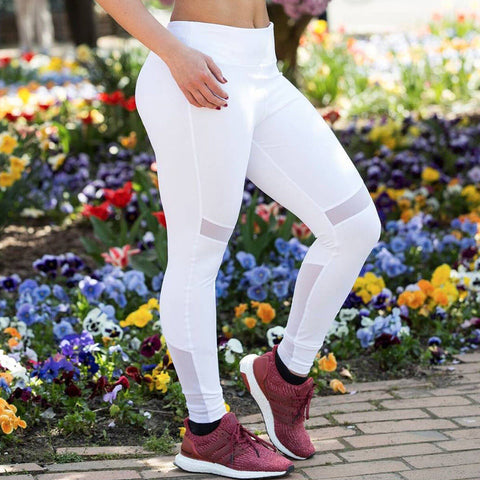 Kenny White Fitness Leggings