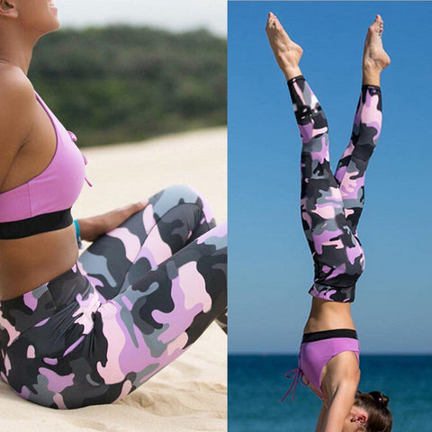 Ulyana Camo Fitness Leggings