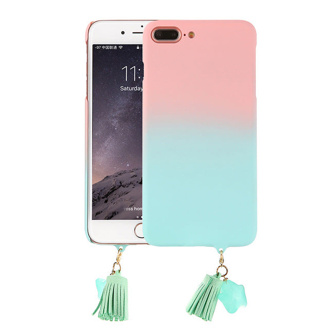 Gradient Candy Color Phone Case