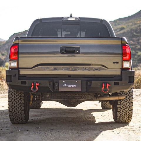 2016-2020 Rear Bumper W/ Integrated Blind Spot Monitoring Sensor Slots
