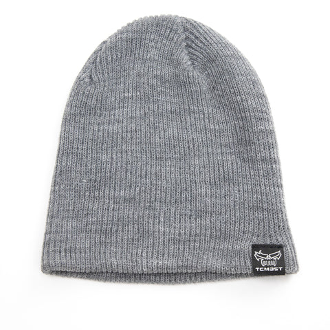 TCMBST Beanie - Heather Grey