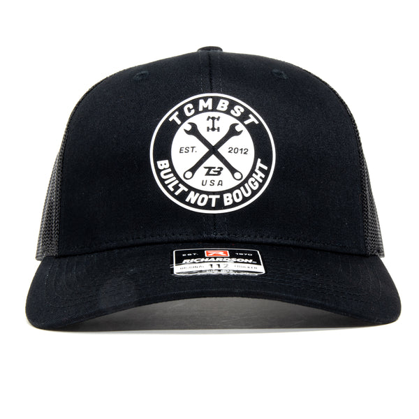 TCMBST Built Not Bought Hat - Black