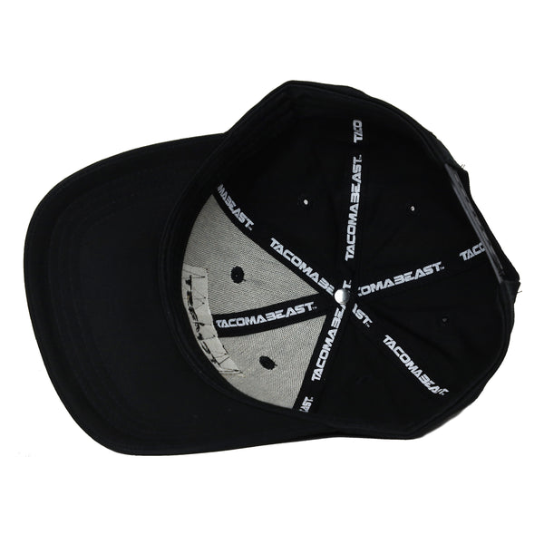 Velcro Trucker Hat - Black