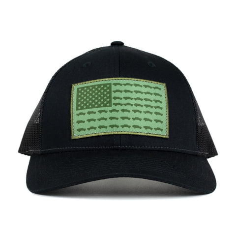 Tacoma USA Spec Ops Hat - Green/Black