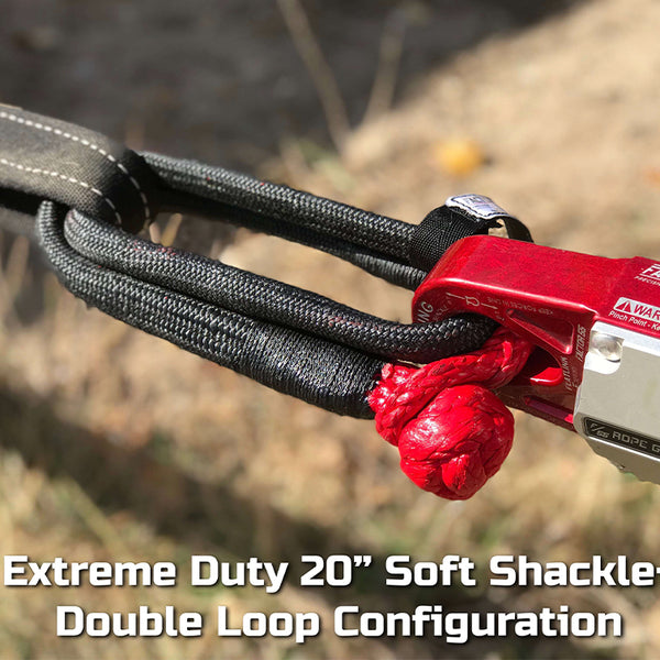"Extreme Duty Soft Shackle 10"" and 20"""