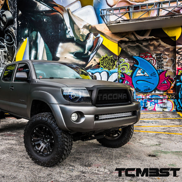 2nd Gen Tacoma 05 15 Flush Mounts Dual Row Bar