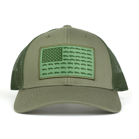 Tacoma USA Spec Ops Hat - Green