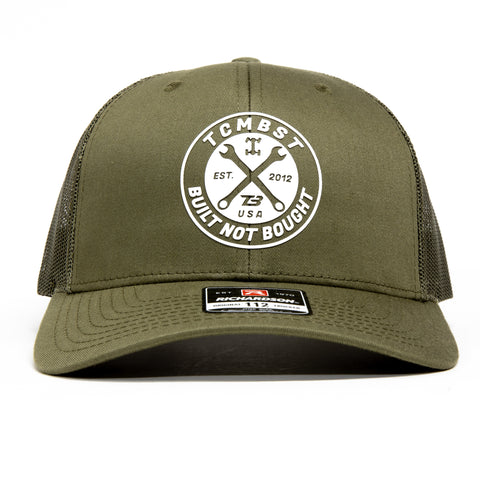TCMBST Built Not Bought Hat - Military Green