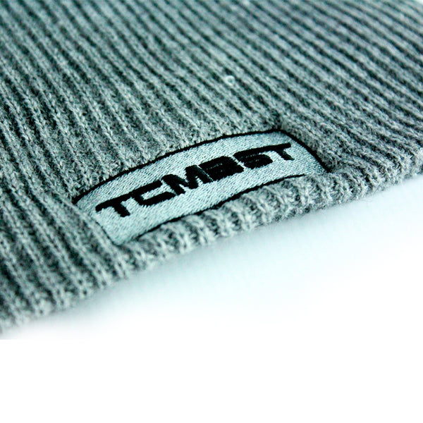TCMBST Patch Beanie - Heathered Grey