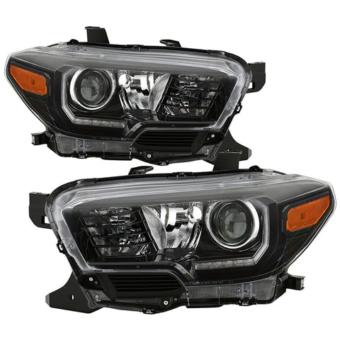 16-19 TRD Pro Style Headlights w/LED DRL