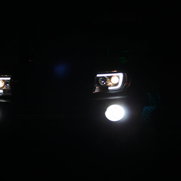 05-11 Toyota Tacoma Projector Headlights Light Bar DRL