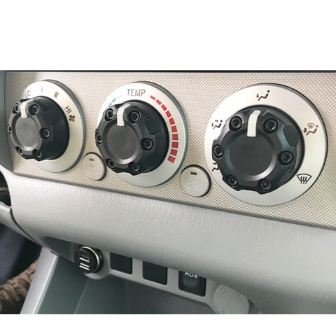 Climate Knobs (2005-2015 Tacoma) - 3 PACK