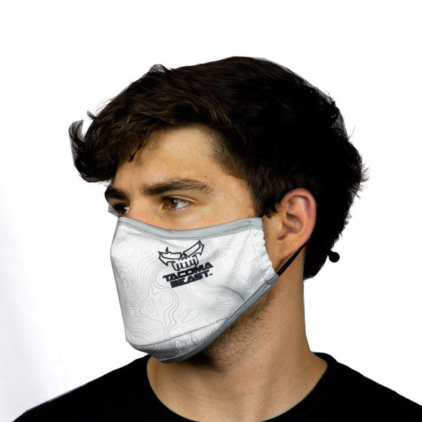 Skull Face Mask - White