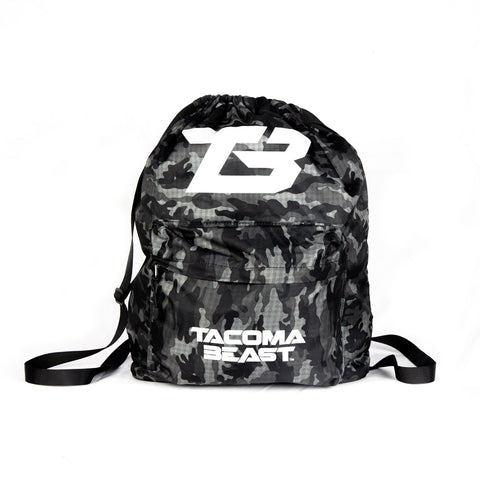 T-Shirt Mystery Camo Drawstring Bag