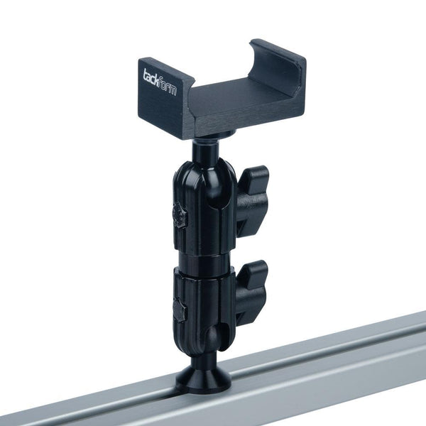 Enduro Series™ T-Slot Track Ready Phone Mount | Short Reach Arm | All Metal Design