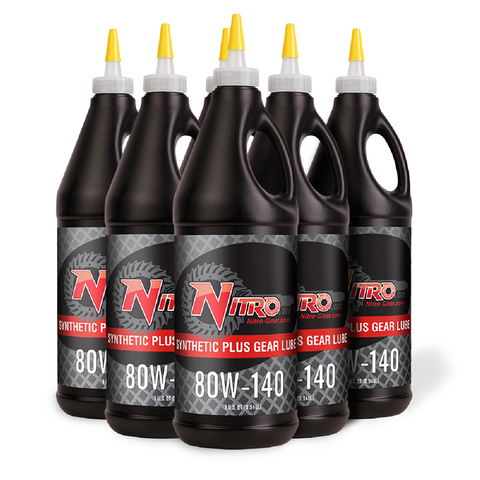 80W-140 Nitro Para-Synthetic Plus Gear Oil, GL5 (6 Quarts)